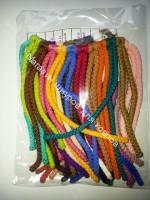 Образцы полиэфирного шнура для вязания ковров